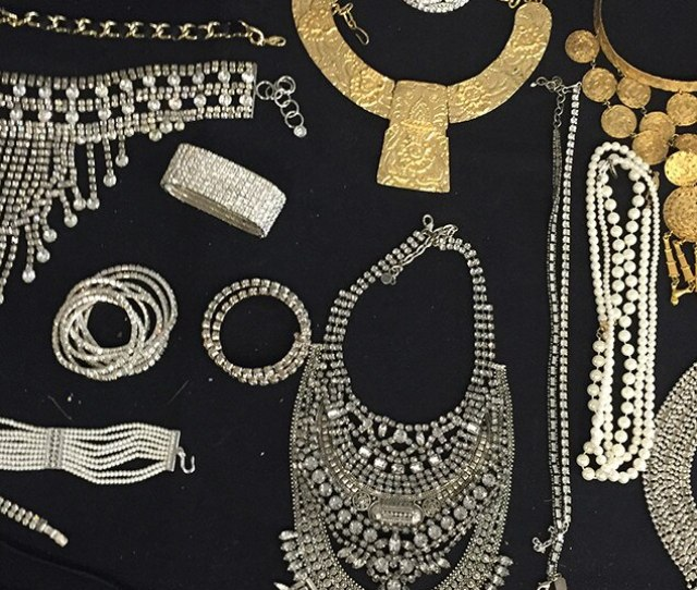 Jewelry Galore From Inside Lady Gagas Amazing Horror Story Fashion E News