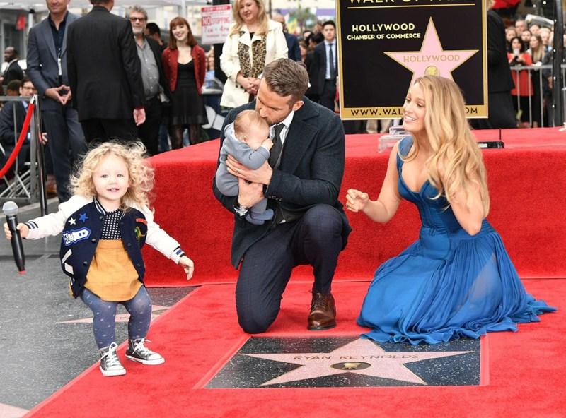 Ryan Reynolds, Blake Lively, James, Baby