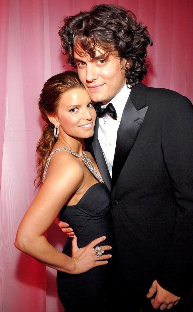 John Mayer, Jessica Simpson, Grammy Couples