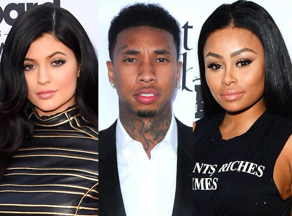 Kylie Jenner, Tyga, Blac Chyna