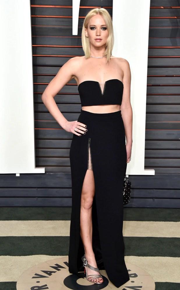 Vanity Fair Oscars Party, Jennifer Lawrence