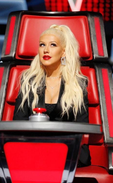 The Voice, Christina Aguilera