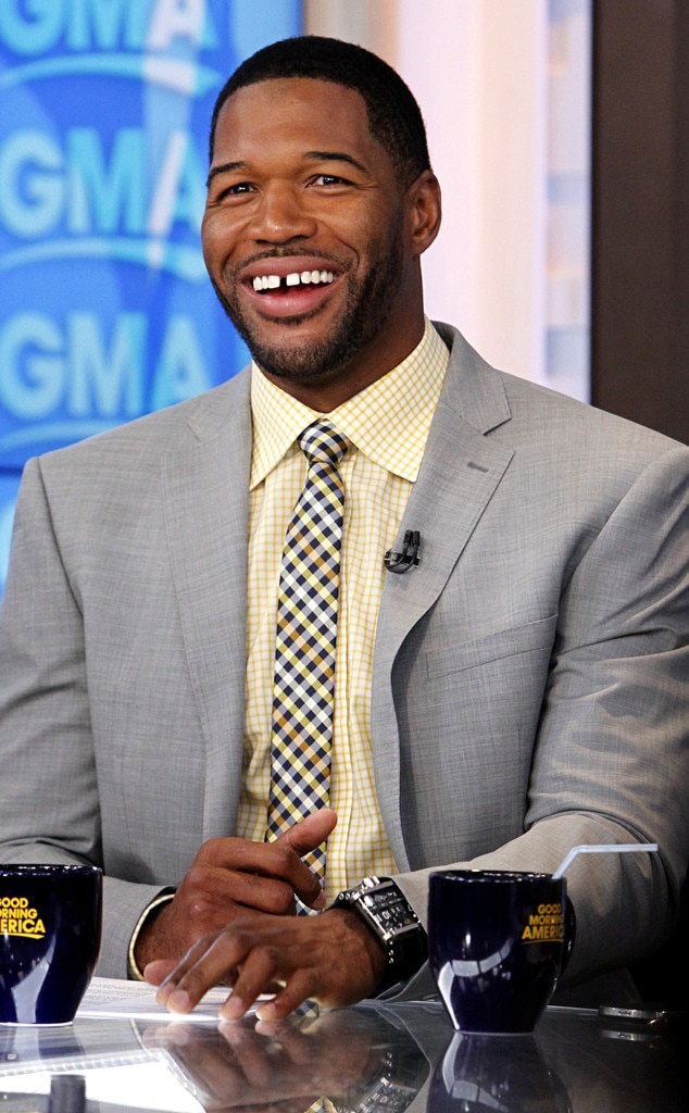 Michael Strahan Haircut : michael, strahan, haircut, Kelly, Ripa's, Live!, Absence, Continue, After, Strahan, News?, Online