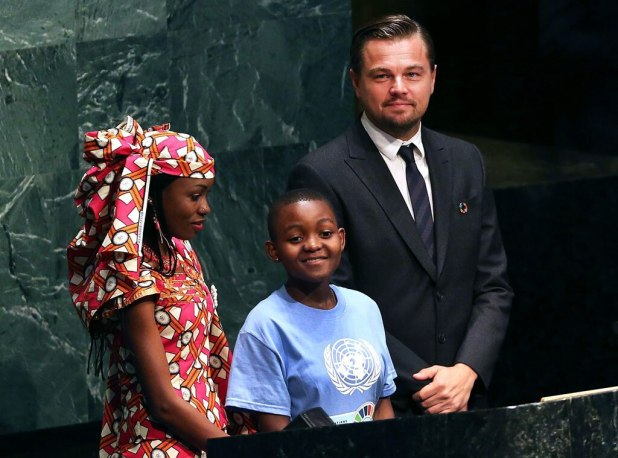 Leonardo DiCaprio, U.N. Goodwill Ambassadors