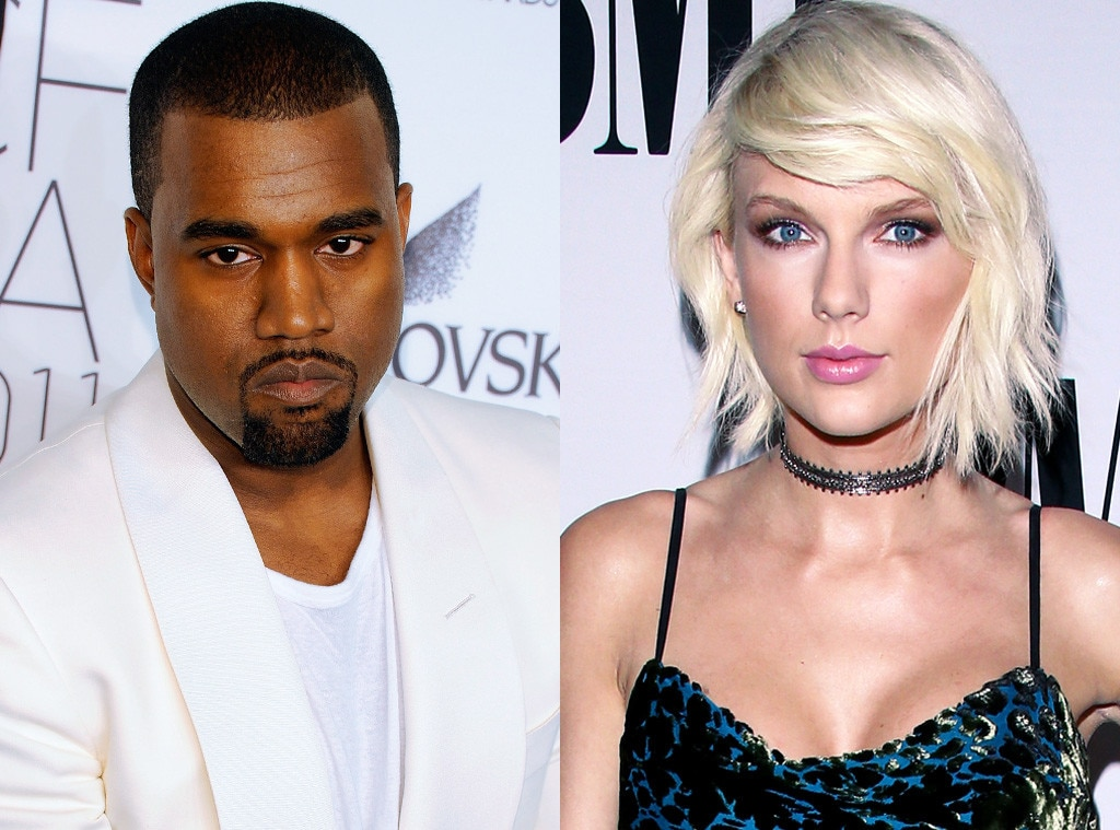 Kanye Swift West Kardashian Taylor Kim