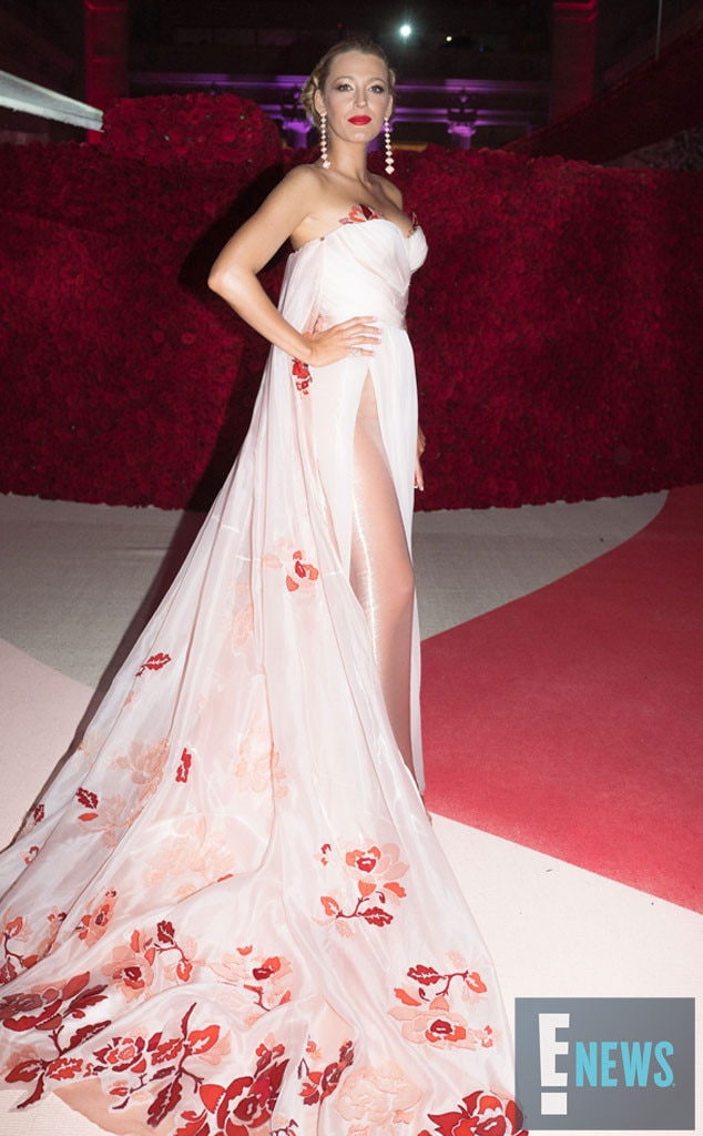 Blake Lively, MET Gala 2016, Inside Pics, Exclusive