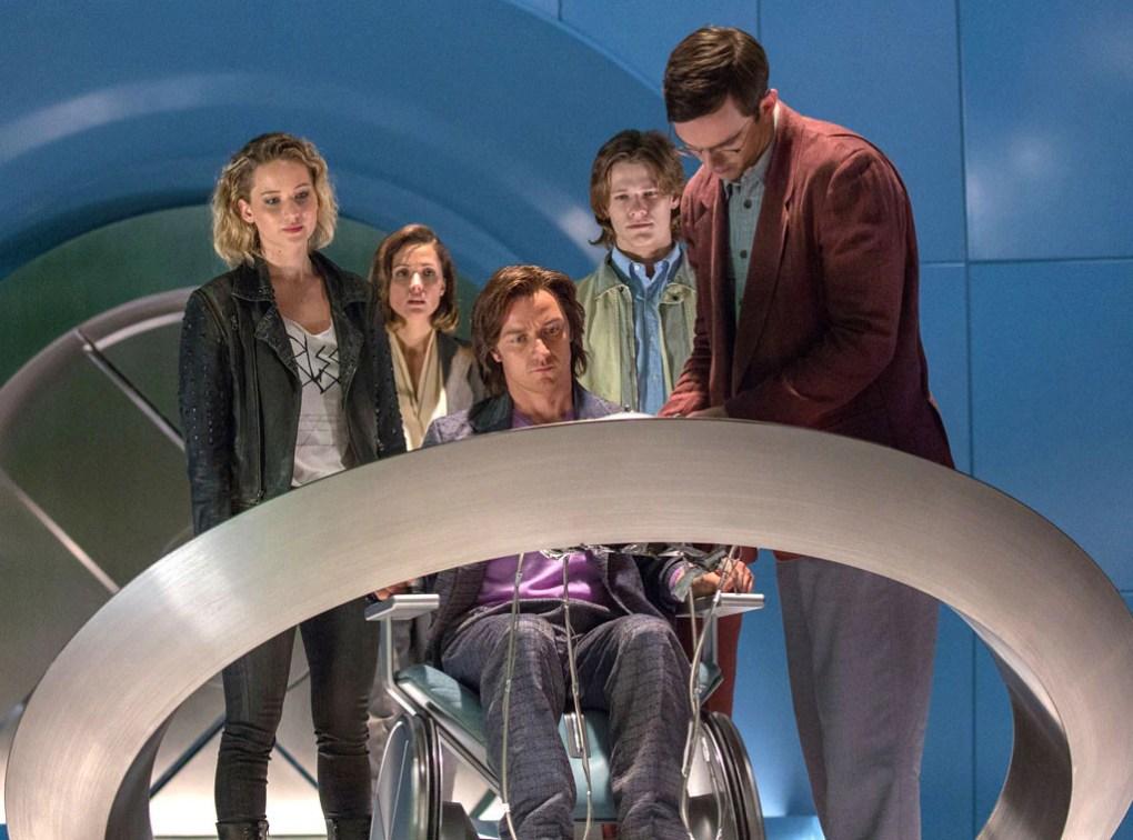 X-Men: Apocalypse, Jennifer Lawrence, Rose Byrne, James McAvoy, Lucas Till, Nicholas Hoult