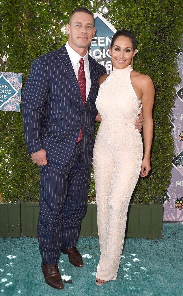 John Cena, Nikki Bella, 2016 Teen Choice Awards