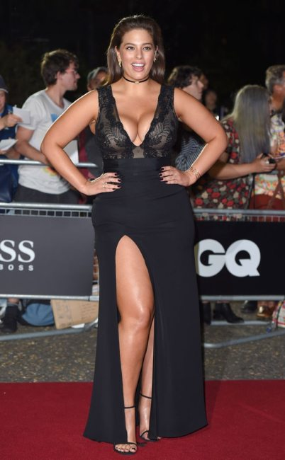 Ashley Graham, GQ Men of the Year Awards 2016