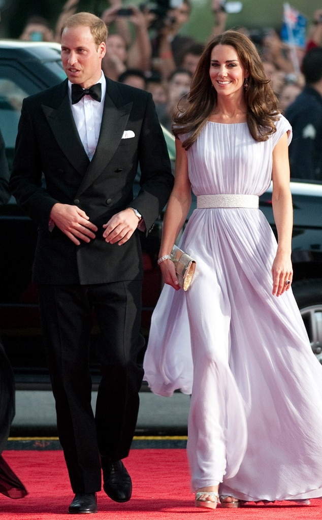 Kate Middleton and Prince Williams Firsts as a Royal