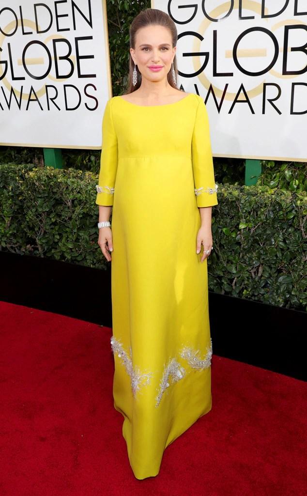 2017 Golden Globes Red Carpet Arrivals Natalie Portman, 2017 Golden Globes, Arrivals