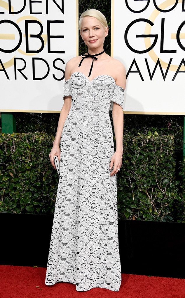 Michelle Williams, 2017 Golden Globes, Arrivals