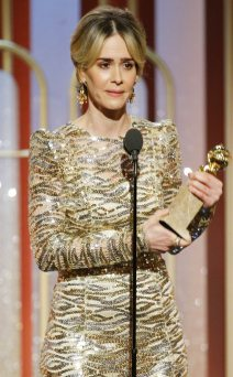 Image result for Sarah Paulson golden globes