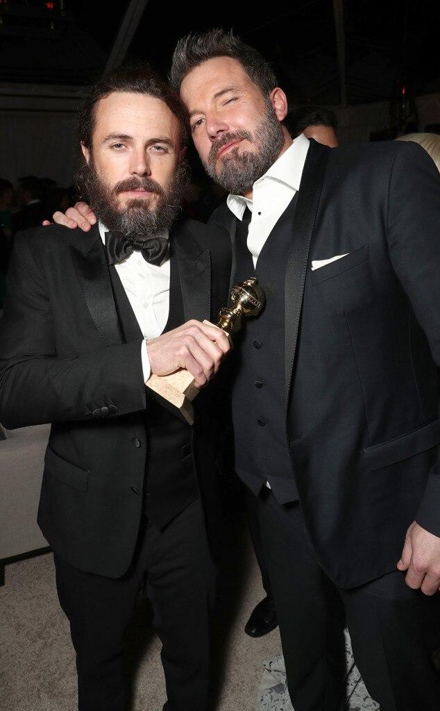 Casey Affleck, Ben Affleck, Photos des Golden Globes 2017, Amazon Studios