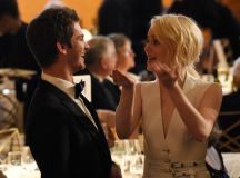 Emma Stone and Andrew Garfield Reunite at 2017 Governors ...
