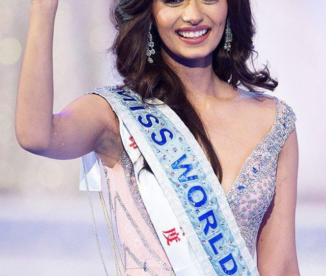 Miss World  Winner Is Miss India Manushi Chhillar E News