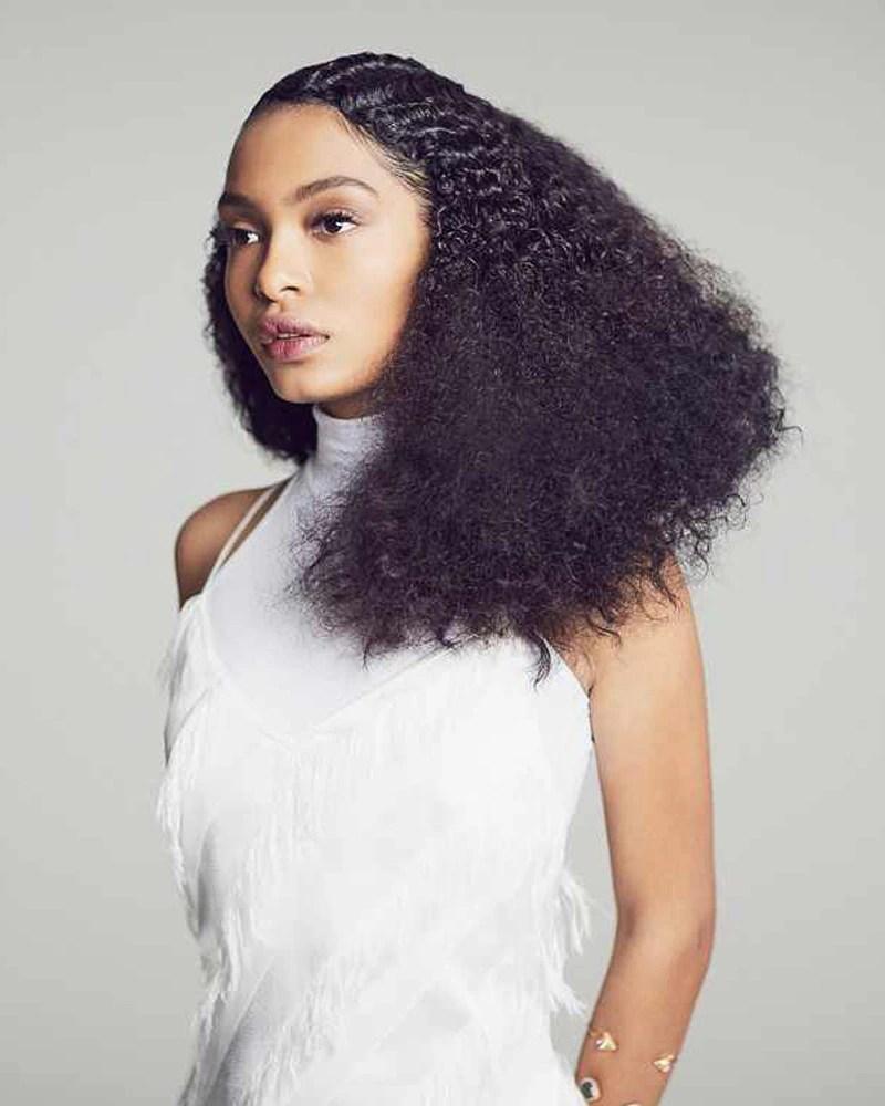 Yara Shahidi Hair Natural