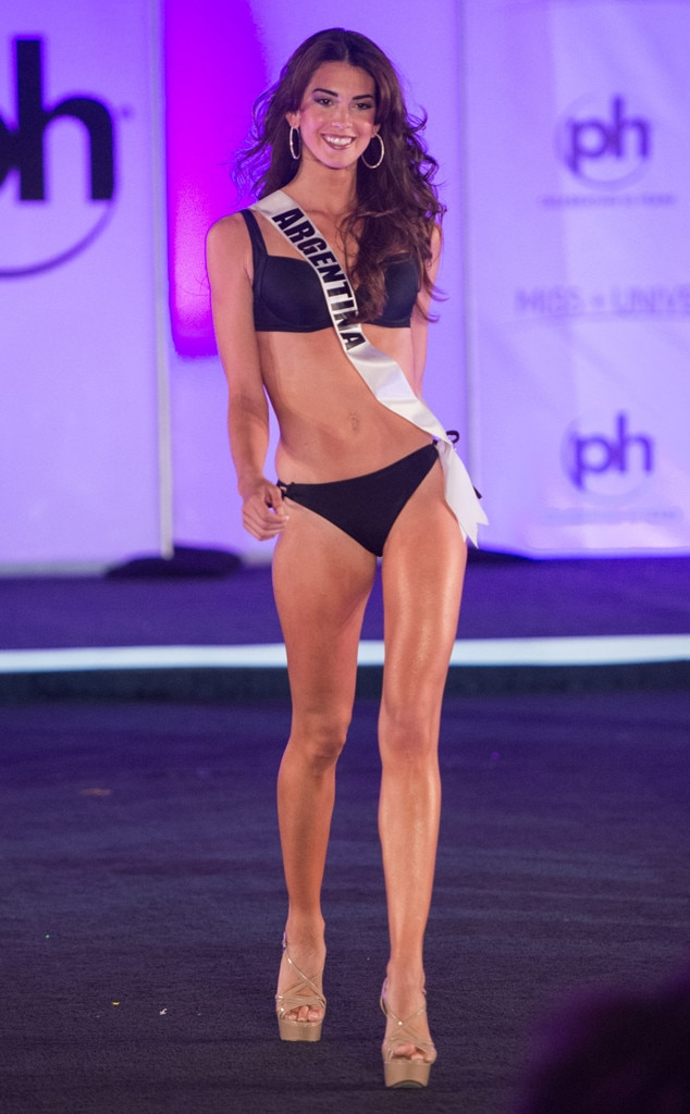Miss Argentina, Miss Universe 2017, bikini, swimsuit competition