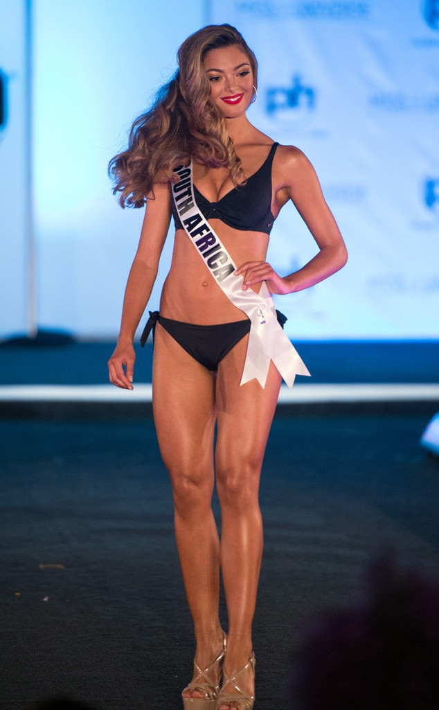 Miss South Africa, Miss Universe 2017, bikini, swimsuit competition