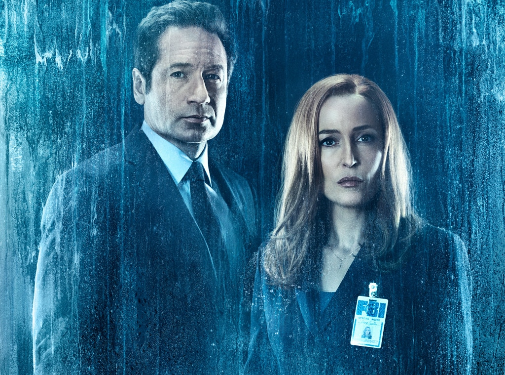 Sonic Fall November Wallpaper Mulder Scully And Me 2 On Set As The X Files Comes Full