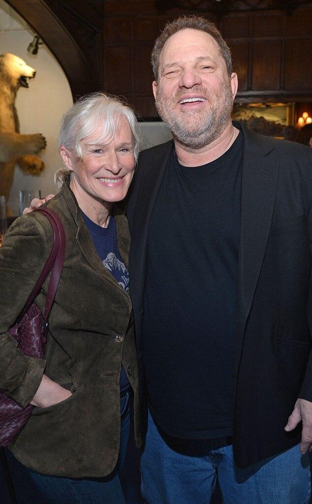 Glenn Close, Harvey Weinstein