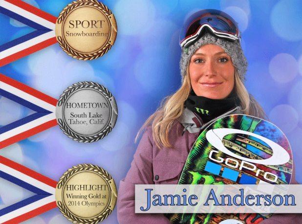 PyeongChang 2018 Olympic Athletes, Jamie Anderson