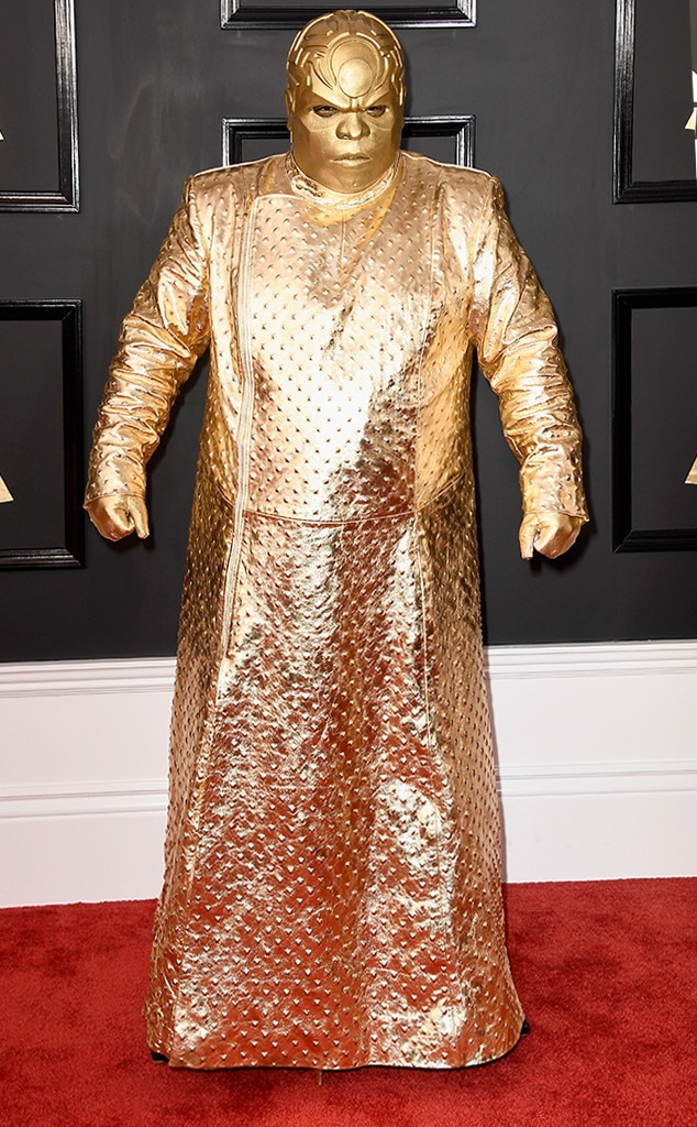 Ceelo Green 2017 Grammy's Red Carpet Fashion, Best and Worst Dressed, on Fashion, Beauty, and Lifestyle Blog UwanaWhat.com