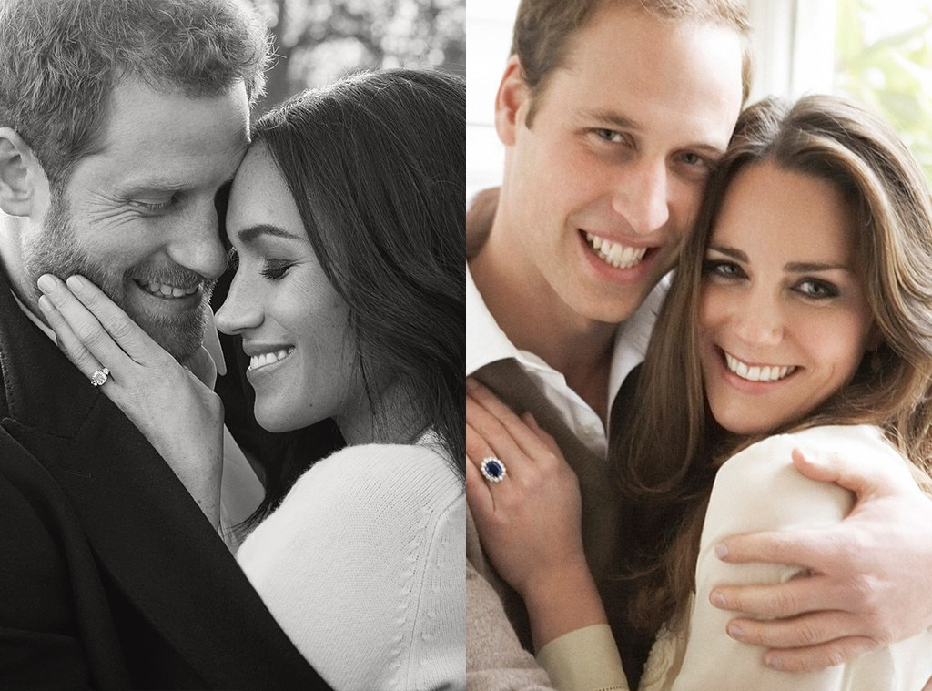 Prince William and Kate Middletons Engagement Portraits