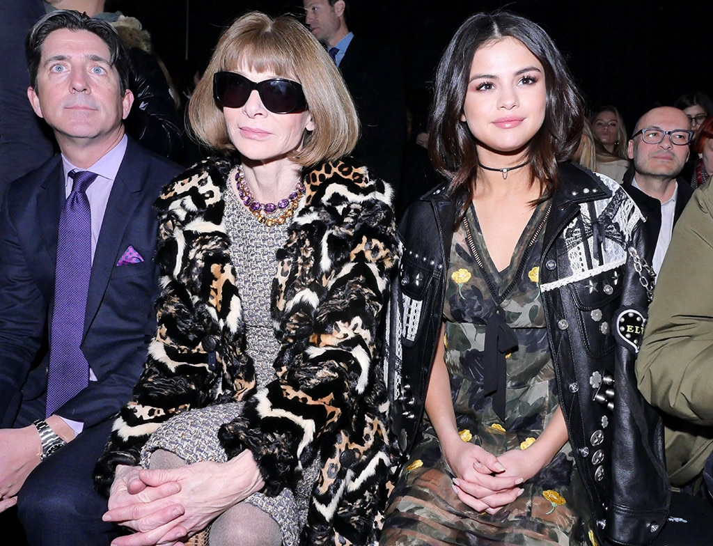 Selena Gomez, Anna Wintour, 2017 NYFW Star Sightings