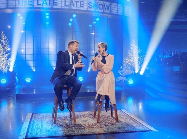 Kristen Wiig, James Corden, The Late Late Show