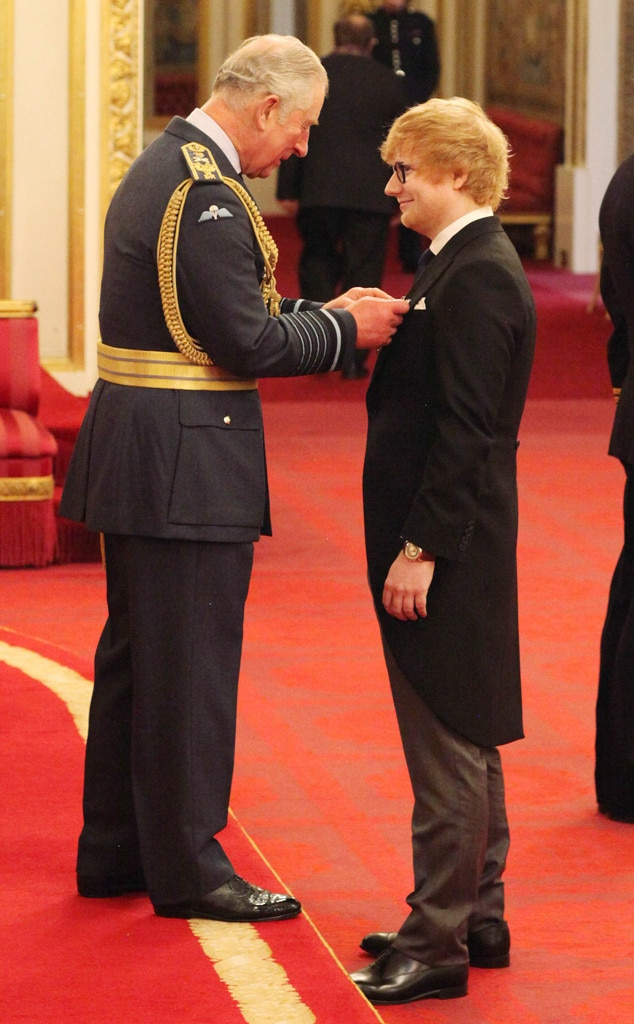 Ed Sheeran, Prince Charles