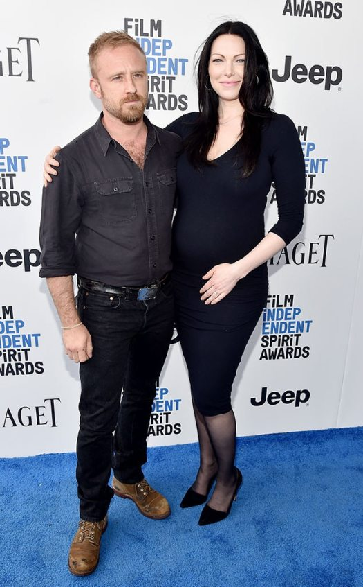 Ben Foster, Laura Prepon, 2017 Independent Spirit Awards