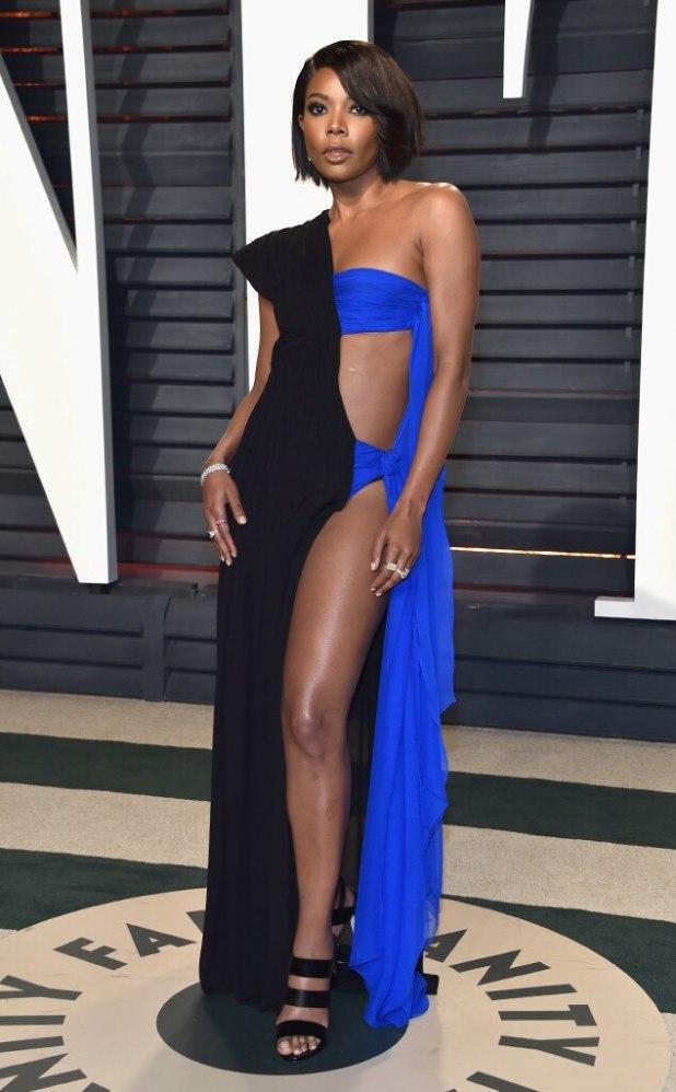 Gabrielle Union, 2017 Oscars Party Pics, Vanity Fair