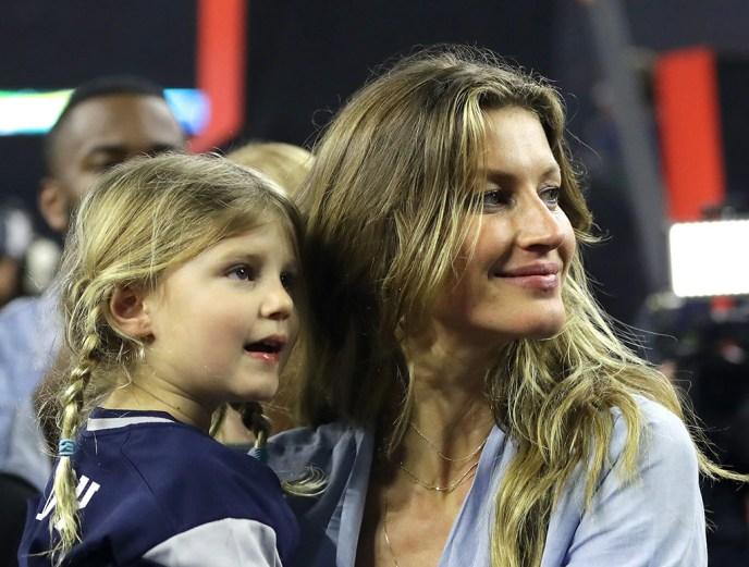 Gisele Bundchen, Vivian Brady, 2017 Super Bowl