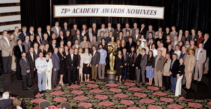 Oscar Luncheon, Class Photo 2003