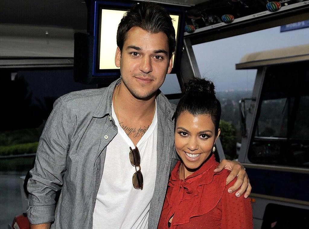 Rob Kardashian, Kourtney Kardashian