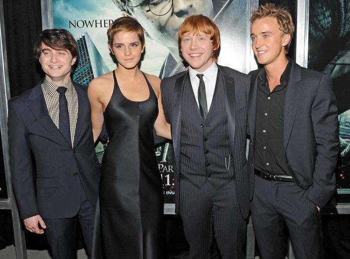 Daniel Radcliffe, Emma Watson, Rupert Grint, Tom Felton, Harry Potter and the Deathly Hallows - Part 1