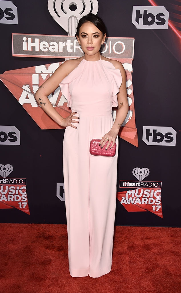 Janel Parrish, 2017 iHeartRadio Music Awards, Arrivals