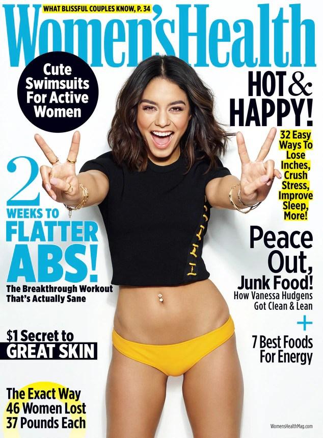 Vanessa Hudgens, Women's Health Magazine