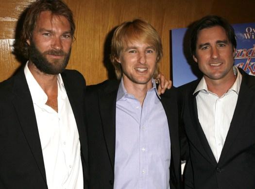 Andrew Wilson, Owen Wilson, Luke Wilson