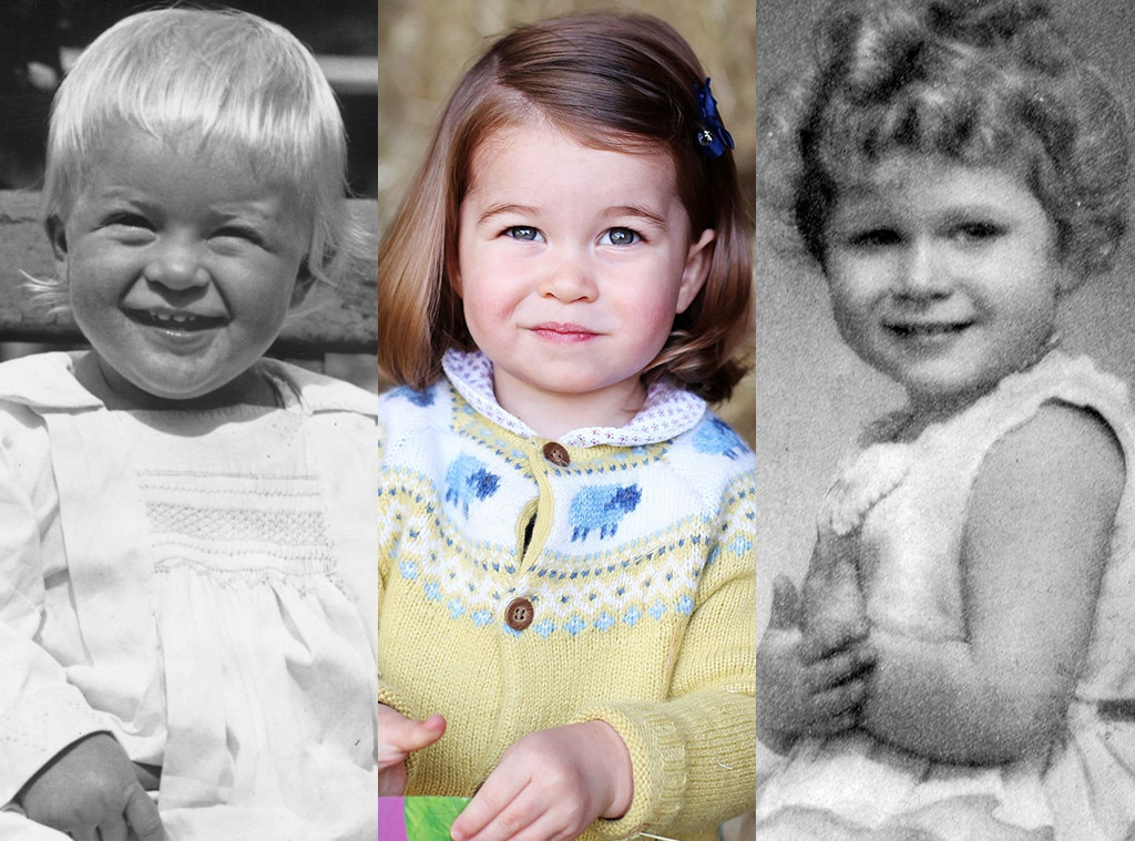 Kinderfoto Queen Elizabeth