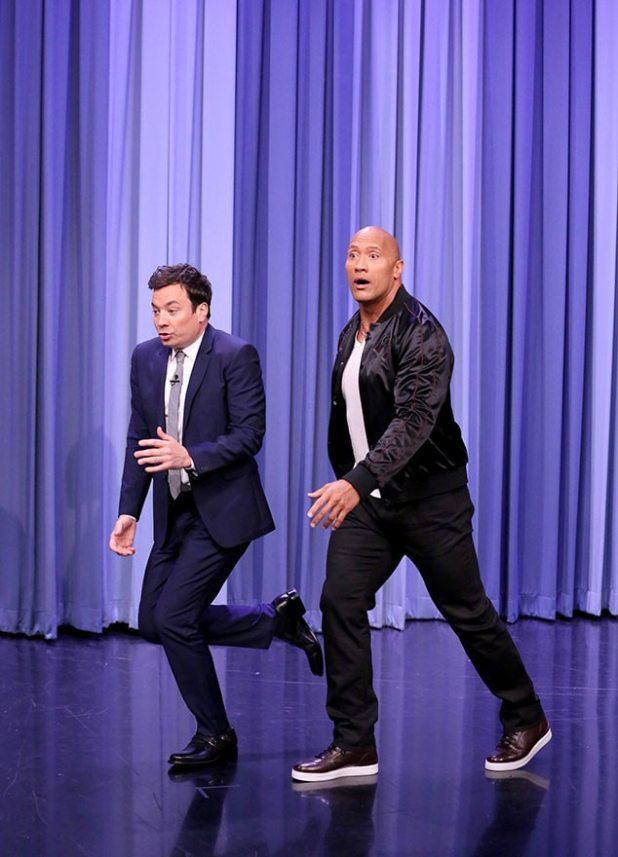 Jimmy Fallon, Dwayne Johnson, The Tonight Show