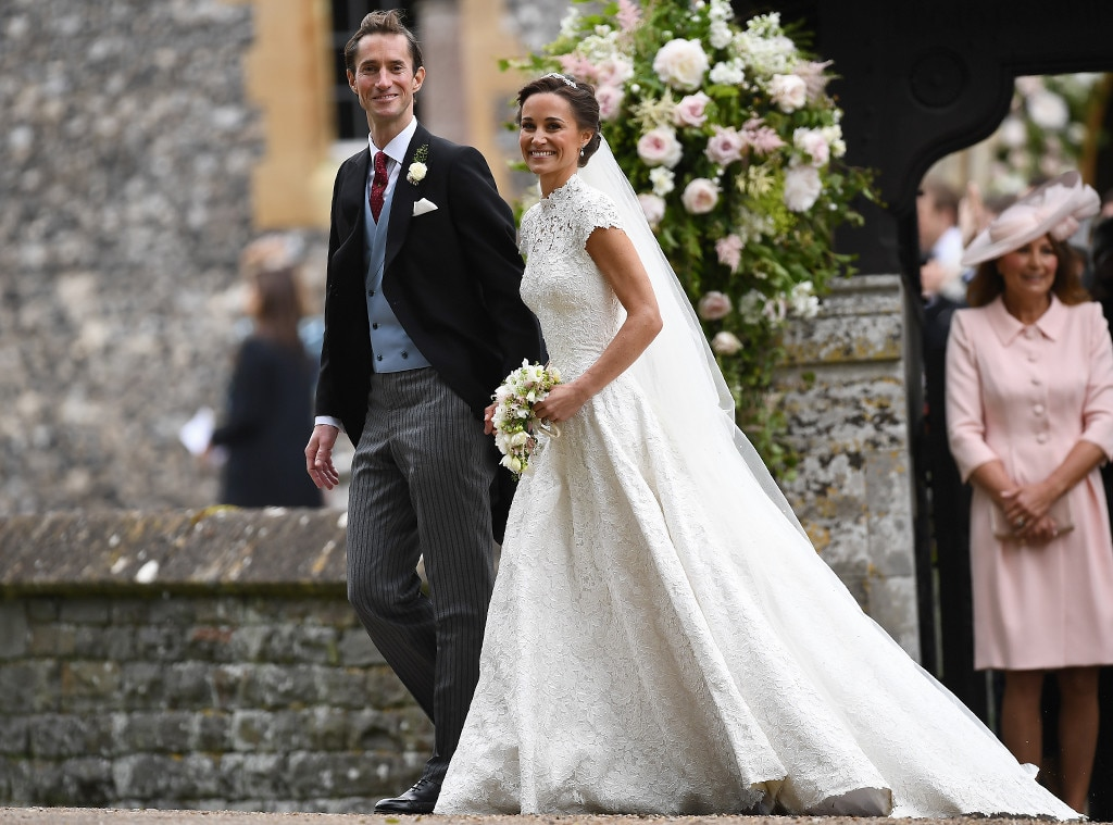 Inside Pippa Middletons Beautiful Traditional Wedding