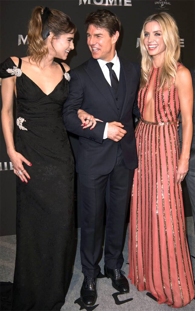Sofia Boutella, Tom Cruise, Annabelle Wallis