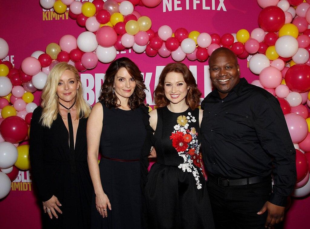 Unbreakable Kimmy Schmidy, Tina Fey, Ellie Kemper, Tituss Burgess, Jane Krakowski