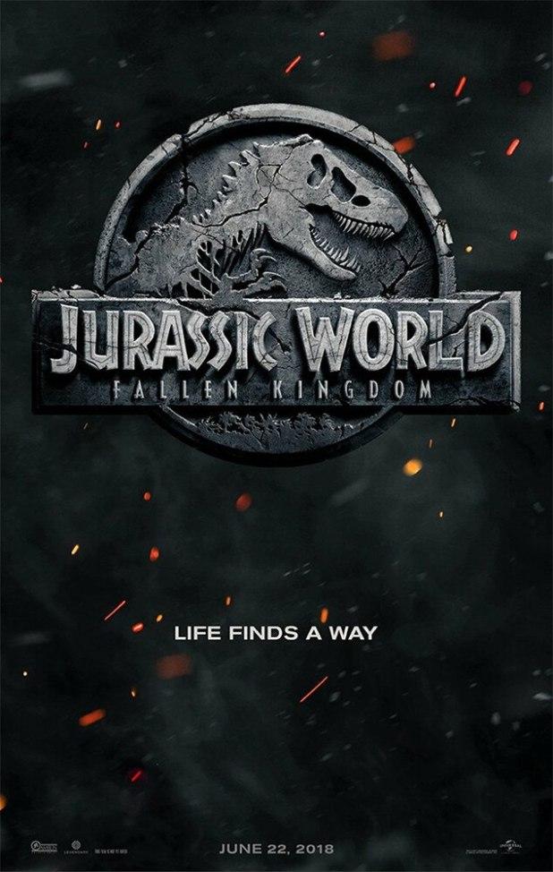 Jurassic World 2, Jurassic World: Fallen Kingdom, Poster