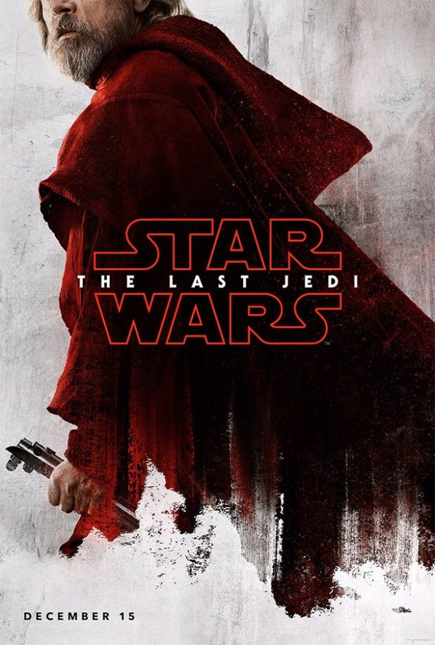 Mark Hamill, Star Wars: The Last Jedi, Character Poster