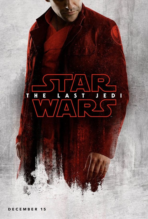 Oscar Isaac, Star Wars: The Last Jedi, Character Poster