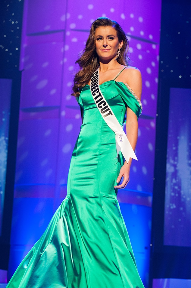 Lana Coffey, Miss Connecticut Teen USA 2017, Preliminary Competition, Evening Gown