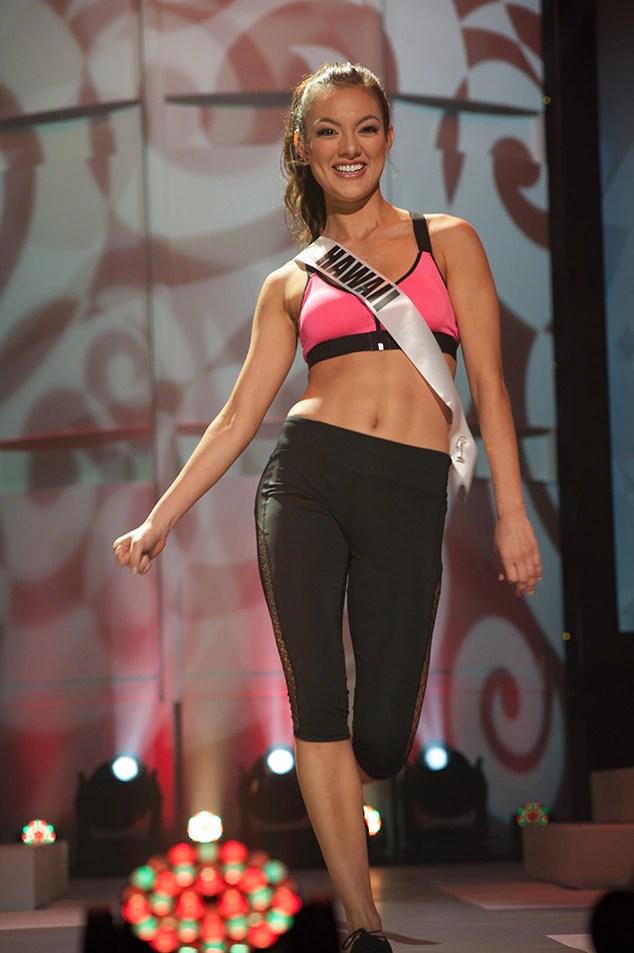 Lauren Teruya, Miss Hawaii Teen USA 2017, Preliminary Competition, Athleisure Wear